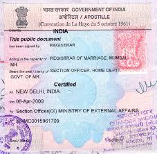 Marriage Certificate Attestation, Bihar, Aurangabad, Patna